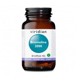 Integratore Vegano Viridian - Bromelina 2000 30 Capsule