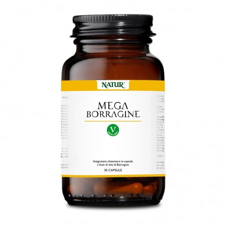 Integratore Alimentare Biocare - Mega Borragine 30 cps