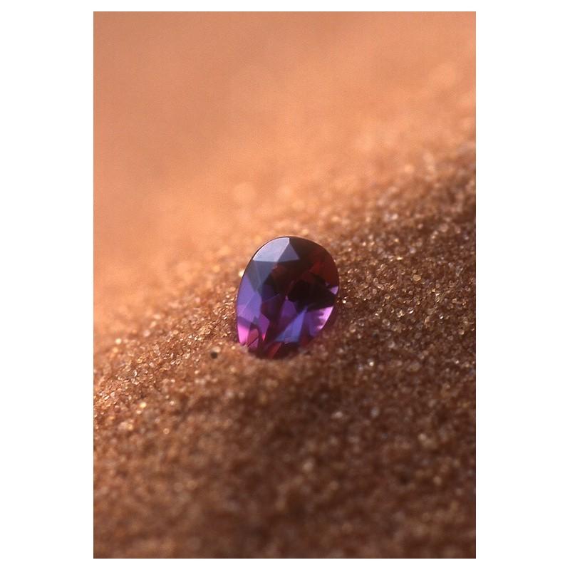 Rhodolite Garnet (Granato di rodolite)