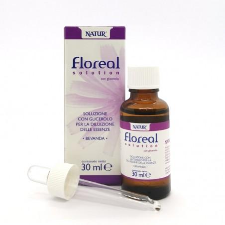 Base per Preparati Gli Essenziali - Floreal Solution con Glicerolo 30 ml
