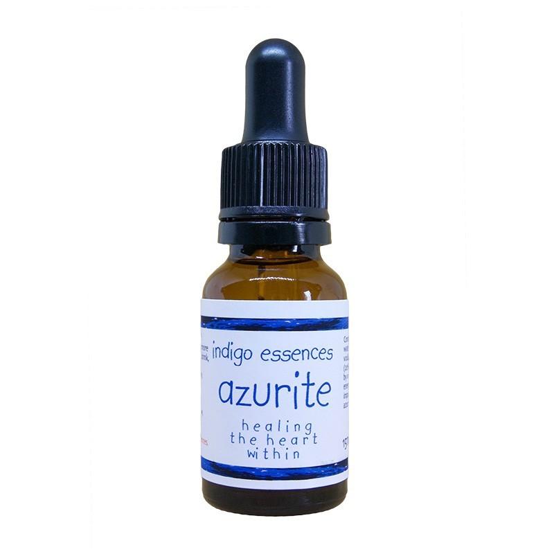 Healing the heart within (azzurrite)