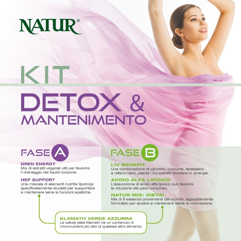 Kit Detox & Mantenimento