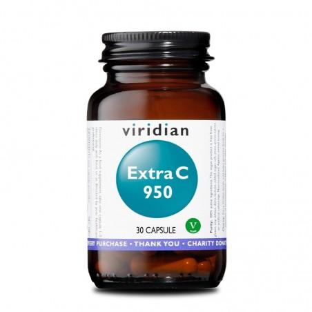 Integratore Vegano Viridian - Extra C 950mg 30 Capsule