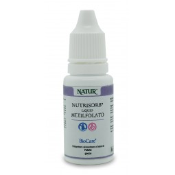 Integratore Vitaminico BioCare - Nutrisorb® Liquid Metilfolato 15 ml