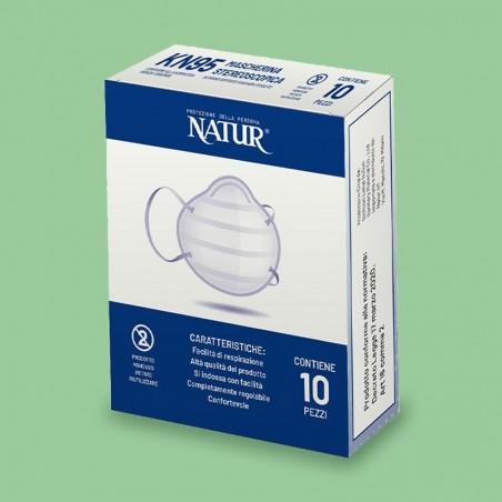Dispositivo DPI Natur - Mascherine KN95 10 Pezzi