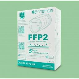 Dispositivo DPI Enhance - Mascherine FFP2 KN95 10 Pezzi