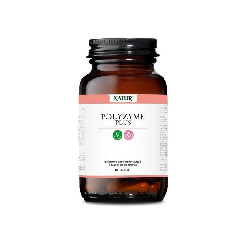 Integratore Alimentare Biocare - Polyzyme Plus 30 Capsule