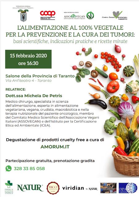 L'alimentazione al 100% vegetale per la prevenzione e la..